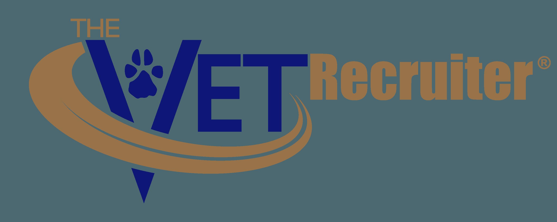 the vet recruiter logo 2 color