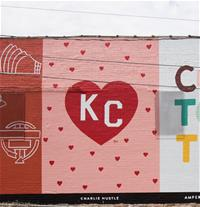 Heart KC-maker mural