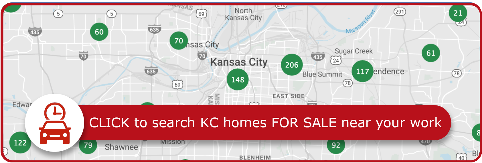 Button to Home Search
